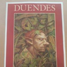 Coleccionismo de carteles: POSTER DUENDES , GUIA DE LOS.SERES MÁGICOS DE ESPAÑA. Lote 201146773