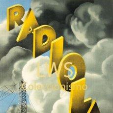 Colecionismo de cartazes: RADIOLA - CARTELES PUBLICIDAD - TELEVISIÓN - TELEVISORES. Lote 201361715