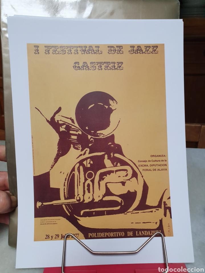Coleccionismo de carteles: FESTIVAL DE JAZZ DE VITORIA. REPRODUCCION DE CARTELES. 1977-2006. - Foto 5 - 202811856