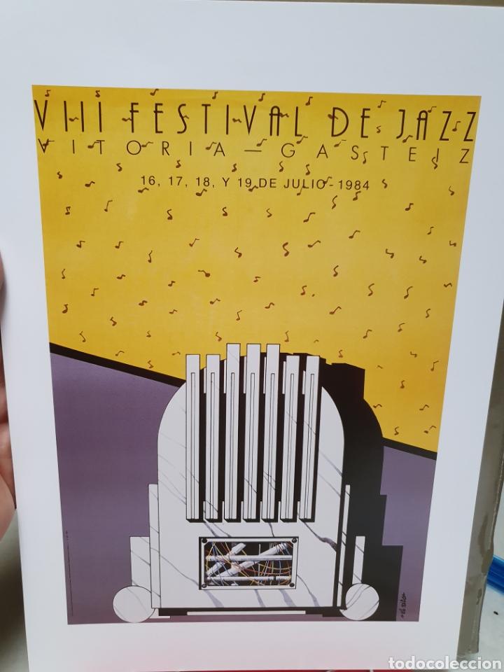 Coleccionismo de carteles: FESTIVAL DE JAZZ DE VITORIA. REPRODUCCION DE CARTELES. 1977-2006. - Foto 6 - 202811856