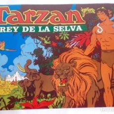 Coleccionismo de carteles: POSTER CARTEL DE TARZAN REY DE LA SELVA.ERA EL PREMIO QUE VENIA EN UNOS SOBRES. Lote 203010297