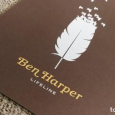 Coleccionismo de carteles: BEN HARPER / LIFELINE CONCERT MINI POSTER 19X14 CM APROX. Lote 204498926