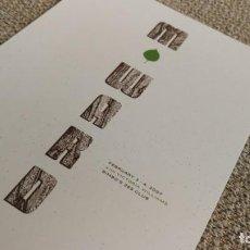 Coleccionismo de carteles: M. WARD / BIMBO'S 365 CLUB CONCERT MINI POSTER 19X14 CM APROX. Lote 204499483