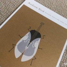 Coleccionismo de carteles: ANDREW BIRD / 2009 CONCERT MINI POSTER 19X14 CM APROX. Lote 204500570