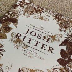 Coleccionismo de carteles: JOSH RITTER / 2006 TOUR CONCERT MINI POSTER 19X14 CM APROX. Lote 204500768
