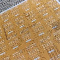 Coleccionismo de carteles: DEATH CAB FOR CUTIE / TOUR CONCERT MINI POSTER 19X14 CM APROX. Lote 204501007