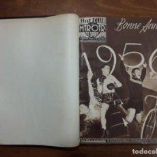 Coleccionismo de carteles: TOMO I BUT CLUB ET LE MIROIR DES SPORTS N° 548 AL N° 574 27 NUMEROS AÑO 1956 CICLISMO BOXEO FUTBOL. Lote 204797145