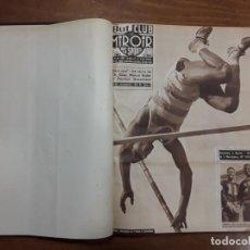 Coleccionismo de carteles: TOMO II BUT CLUB ET LE MIROIR DES SPORTS N° 586 AL N° 607 22 NUMEROS AÑO 1956 CICLISMO BOXEO FUTBOL. Lote 204799268