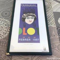 Coleccionismo de carteles: CARTEL CARNAVAL DE OLOT 1997 - ISIDRE FONT. Lote 204993588