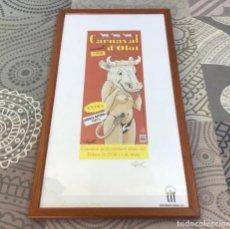 Coleccionismo de carteles: CARTEL CARNAVAL DE OLOT 1998 - MIQUEL FARRES + QUEL. Lote 204993892
