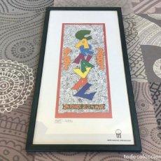 Coleccionismo de carteles: CARTEL CARNAVAL DE OLOT 2001 - PERE ROVIRA - BIRI. Lote 204994593