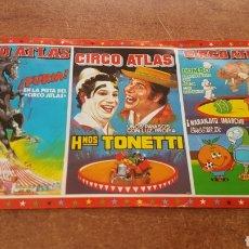 Colecionismo de cartazes: ENTRADA PARA EL CIRCO ATLAS ESPAÑA 82 NARANJITO - VALLADOLID. Lote 205524866