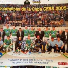Coleccionismo de carteles: CARTEL VILANOVA CAMPEONES COPA. Lote 207046343