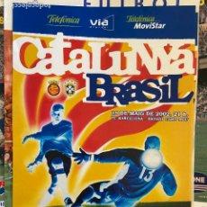 Coleccionismo de carteles: CARTEL CATALUNYA BRASIL. Lote 207046397