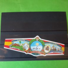 Coleccionismo de carteles: COLON V CENTENARIO TABACOS FAMA FIRMA COLON. Lote 207200232