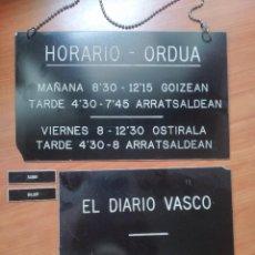 Coleccionismo de carteles: CARTELES BAQUELITA. Lote 207407338