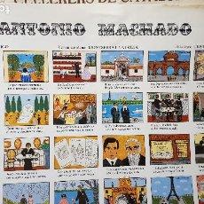 Collectionnisme d'affiches: ANTONIO MACHADO. Lote 207625661