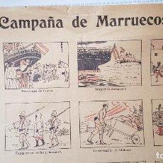 Coleccionismo de carteles: CAMPAÑA DE MARRUECOS. Lote 207632250