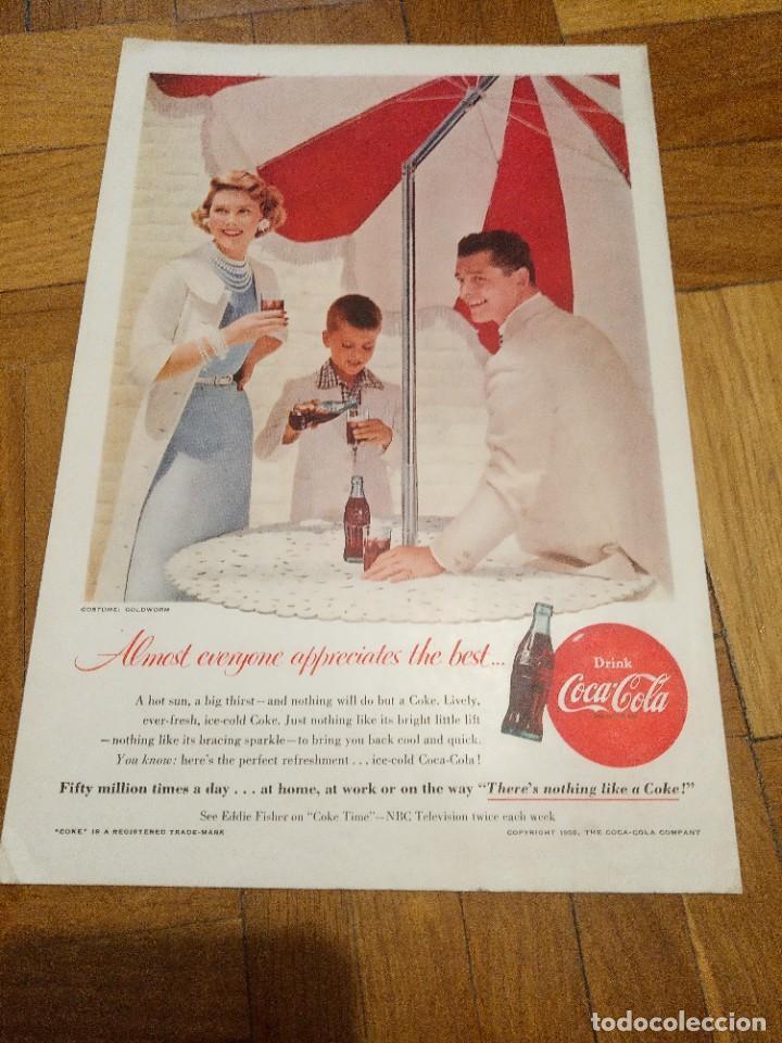 Coleccionismo de carteles: Cartel Coca cola cartulina - Foto 4 - 207856593