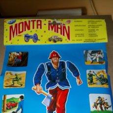 Coleccionismo de carteles: EXPOSITOR DE MONTA - MAN. MONTA /PLEX.. Lote 207901251