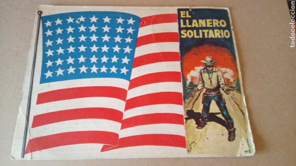 CARTEL DE CARTÓN EL LLANERO SOLITARIO. (Coleccionismo - Carteles Pequeño Formato)