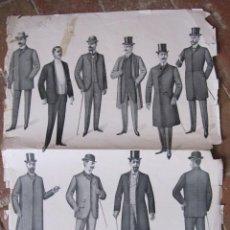 Coleccionismo de carteles: CARTEL. MUSÉE DES TAILLEURS. (MUSEO DE LOS SASTRES). PARIS FEBRERO 1903. 60 X 44 CM. Lote 208328927
