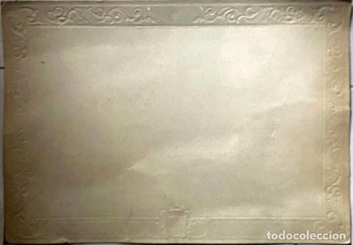 Coleccionismo de carteles: CARTEL CHOCOLATES DE LA TRAPA - PAGÉS Y ROCAFORT - BARCELONA - Foto 2 - 208657520