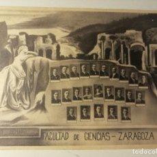 Collezionismo di affissi: ORLA FACULTAD DE CIENCIAS-ZARAGOZA, PROMOCIÓN 1921-1926. VICENTA ARNAL Y ÁNGELA G. DE LA PUERTA.. Lote 211991583