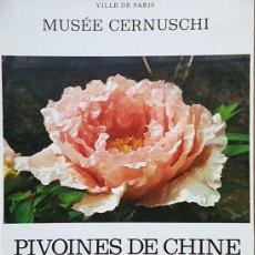 Coleccionismo de carteles: PIVOINES DE CHINA. Lote 212386556