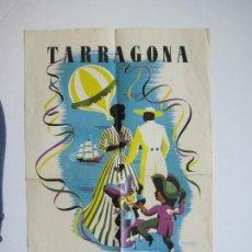 Coleccionismo de carteles: TARRAGONA-FIESTAS DE SANTA TECLA-AÑO 1953-CARTEL PUBLICIDAD-VER FOTOS-(V-21.487). Lote 212627106