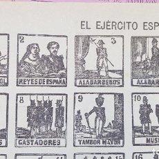 Coleccionismo de carteles: EL EJERCITO ESPAÑOL -Nºº59. Lote 212699863