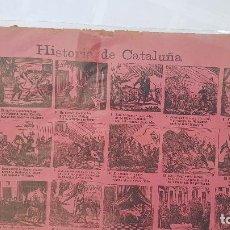 Coleccionismo de carteles: HISTORIA DE CATALUÑA-Nº2. Lote 212700163