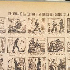 Coleccionismo de carteles: LOS DONES DE LA FORTUNA O LA FUERZA DEL DESTINO EN LA ESPERA SOCIAL Nº95. Lote 212700467