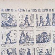Coleccionismo de carteles: LOS DONES DE LA FORTUNA O LA FUERZA DEL DESTINO EN LA ESPERA SOCIAL Nº95. Lote 212700493