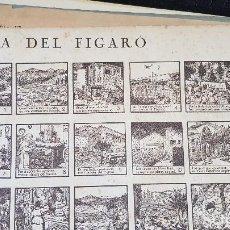 Coleccionismo de carteles: AUCA DEL FIGARO. Lote 212700613