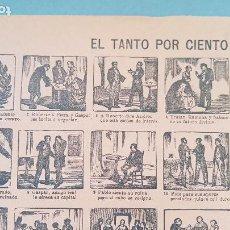Coleccionismo de carteles: EL TANTO POR CIEN Nº97. Lote 212700687