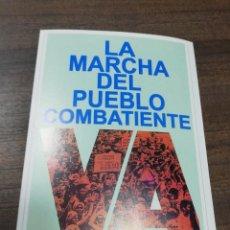 Coleccionismo de carteles: REVOLUCION. CUBA. CUBANA. PEQUEÑO CARTEL. MEDIDAS : 18 X 14 CM APROX.. Lote 212960601