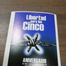 Coleccionismo de carteles: REVOLUCION. CUBA. CUBANA. PEQUEÑO CARTEL. MEDIDAS : 18 X 14 CM APROX.. Lote 212960663