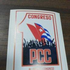 Coleccionismo de carteles: REVOLUCION. CUBA. CUBANA. PEQUEÑO CARTEL. MEDIDAS : 18 X 14 CM APROX.. Lote 212960723
