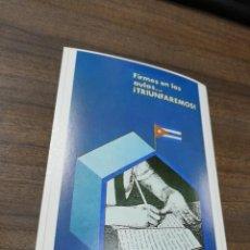 Coleccionismo de carteles: REVOLUCION. CUBA. CUBANA. PEQUEÑO CARTEL. MEDIDAS : 18 X 14 CM APROX.. Lote 212960848