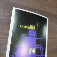 Coleccionismo de carteles: REVOLUCION. CUBA. CUBANA. PEQUEÑO CARTEL. MEDIDAS : 18 X 14 CM APROX.. Lote 212960867