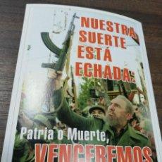 Coleccionismo de carteles: REVOLUCION. CUBA. CUBANA. PEQUEÑO CARTEL. MEDIDAS : 18 X 14 CM APROX.. Lote 212960920