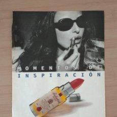 Coleccionismo de carteles: BALLANTINE'S HOJA DE PUBLICIDAD DE PRENSA VINTAGE AÑOS 90 PAPEL. Lote 213790493