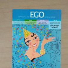 Coleccionismo de carteles: EGO MODA EL SEMANAL HOJA DE PUBLICIDAD DE PRENSA AÑO 2000. Lote 213790955