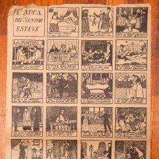 Coleccionismo de carteles: RAMON CASAS - AUCA - 1946. Lote 213894843