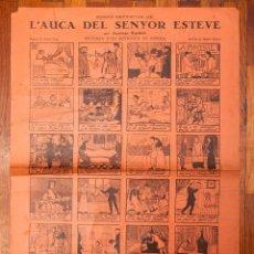 Coleccionismo de carteles: RAMON CASAS - AUCA - 1929 - L'AUCA DEL SENYOR ESTEVE. Lote 213894896