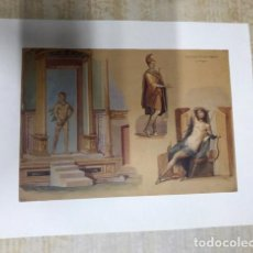 Coleccionismo de carteles: INTERESANTE LOTE DE LÁMINAS Y CARTELES. VER DESCRIPCIÓN. CLASICOS. Lote 217774571