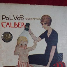 Collectionnisme d'affiches: ANUNCIO / PUBLICIDAD - DIBUJO BALDRICH - POLVOS ANTISEPTICOS CALBER. Lote 220311145