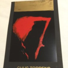 Coleccionismo de carteles: CARTEL ARTE CHUS TORRENS. Lote 221707047