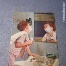 Coleccionismo de carteles: POSTAL PUBLICIDAD JABON PALMOLIVE. Lote 221825421